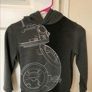 Boys Gap Star Wars hooded sweatshirt